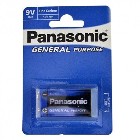 Bateria Panasonic Block 9V 6F22