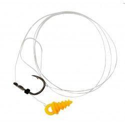 Przypon Kamatsu Method Feeder Long Kantousure with Screw rozm.12, 0,18mm/30cm (10szt.)