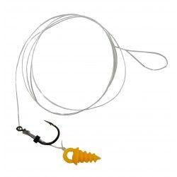 Przypon Kamatsu Method Feeder Long Koiso with Screw rozm.12, 0,18mm/30cm (10szt.)