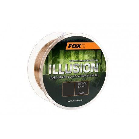 Żyłka Fox Illusion Trans Khaki 0,39mm/200m