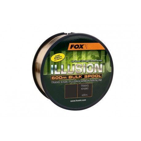 Żyłka Fox Illusion Trans Khaki 0,35mm/600m