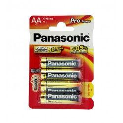 Baterie Panasonic Mignon Pro Power Alkaline 1,5V AA LR6