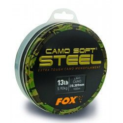 Żyłka Fox Camo Soft Steel 0,30mm/1000m - Light Camo