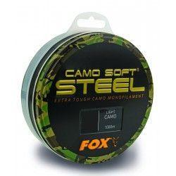 Żyłka Fox Camo Soft Steel 0,33mm/1000m - Light Camo