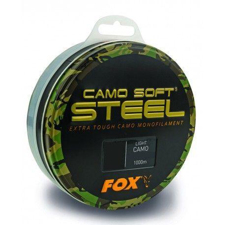 Żyłka Fox Camo Soft Steel 0,35mm/1000m - Light Camo