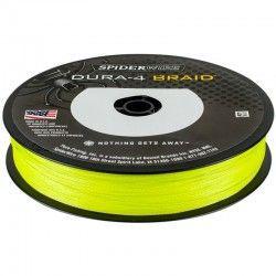 Plecionka SpiderWire Dura4 Braid 0,40mm/300m, Yellow