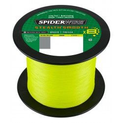 Plecionka SpiderWire Stealth Smooth8 0,13mm/2000m, Hi-Vis Yellow