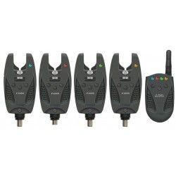 Zestaw sygnalizatorów radiowych - Pro Carp F-2000 4+1