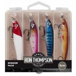 Zestaw przynęt Ron Thompson Minnow Pack 8cm (4szt.)