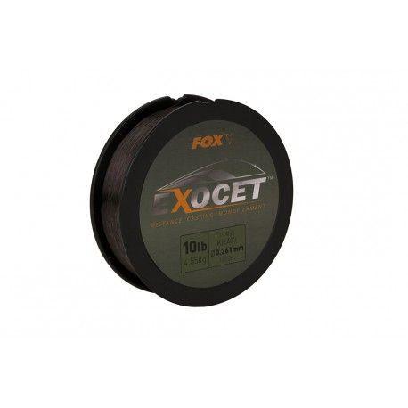 Żyłka Fox Exocet Monofilament Trans Khaki 0,26mm/1000m