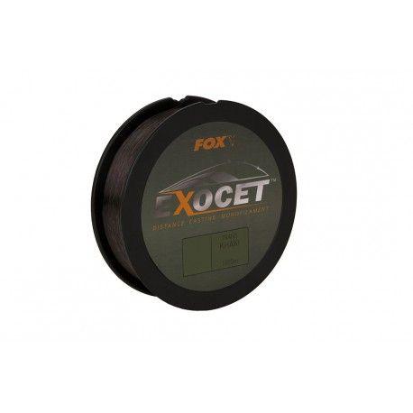 Żyłka Fox Exocet Monofilament Trans Khaki 0,33mm/1000m