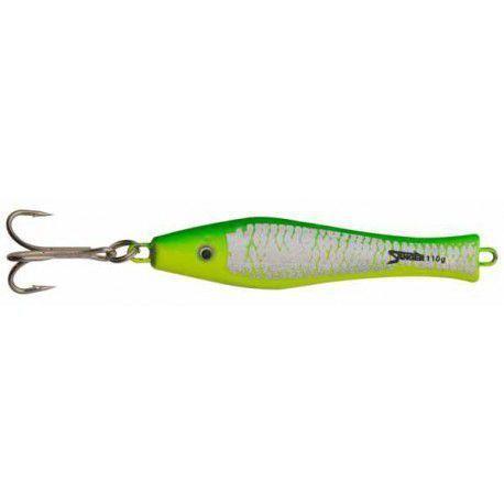 Aquantic 3d Holo Pilker 70g ziel/żółty/neon
