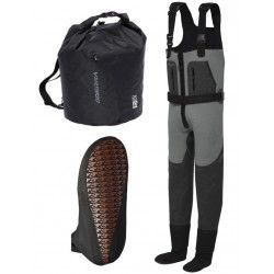 Spodniobuty Scierra Yosemite Neo 5mm chest Bootfoot Cleated M, rozm. 40/41