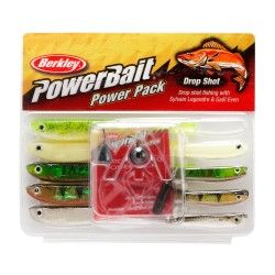 Zestaw przynęt gumowych Berkley Pro Pack Drop Shot
