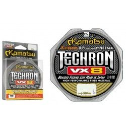 Plecionka Kamatsu Techron VX8 0,12mm/100m, Olive Green