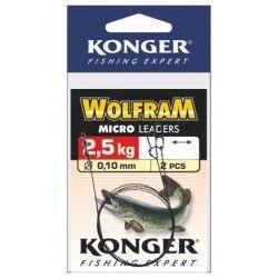 Przypon wolframowy Konger Wolfram Micro Leader 0,10mm-20cm (2szt.)