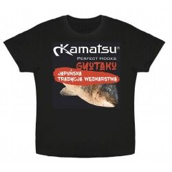 Koszulka Kamatsu Gyotaku Black, rozm.L
