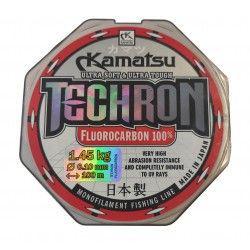 Żyłka Kamatsu Techron Fluorocarbon 0,10mm/100m