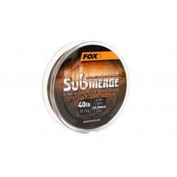 Plecionka Fox Submerge Sinking Braided Mainline Dark Camo 0,20mm/300m