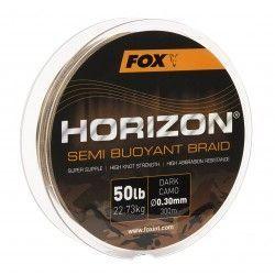 Plecionka Fox Horizon Semi Buoyant Braid Dark Camo 0,30mm/300m