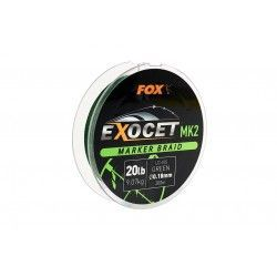 Plecionka Fox Exoceet MK2 Marker Braid Lo-Vis Green 0,18mm/300m
