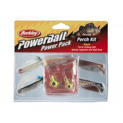 Zestaw przynęt Berkley PowerBait Pro Pack Perch Ripple