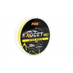 Plecionka Fox Exocet MK2 Spod Braid Hi-Vis Yellow 0,18mm/300m