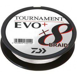 Plecionka Daiwa Tournament X8 Braid EVO+ 135m, biały