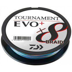 Plecionka Daiwa Tournament X8 Braid EVO+ 300m, multikolor