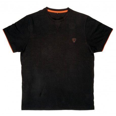 0683ab6a4 Koszulka Fox T-shirt Black/Orange Rozm.S