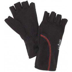 Rękawice DAM Windproof Half Finger Black