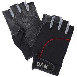Rękawice DAM Neo Tec Half Finger Black