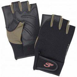 Rękawice Scierra Neo Stretch Half Finger Black