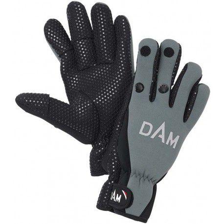 Rękawice DAM Neoprene Fighter Glove Black/Grey