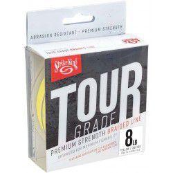 Plecionka Strike King Tour Grade Braid 137m, żółty