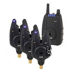 Zestaw Sygnalizatorów Fox Micron MXR+ Set 3+1 Blue