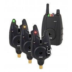 Zestaw Sygnalizatorów Fox Micron MXR+ Set 3+1 Multi Color