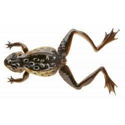 Przynęta żaba gumowa Cormoran 3D-Softfrog, kolor: czarny (2szt.)