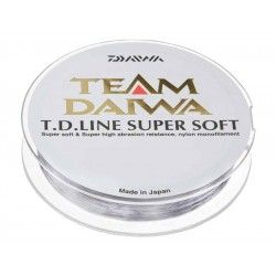 Żyłka Daiwa Team Super Soft 0,16mm/135m przezroczysta