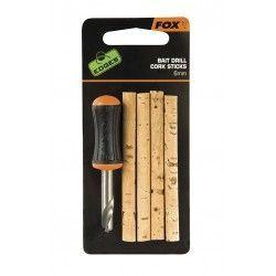 Wiertło + wałeczki korkowe Fox Bait Drill & Cork Sticks