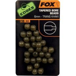 Koralik Fox Edges Tapered Bore Beads 6mm (30szt.)