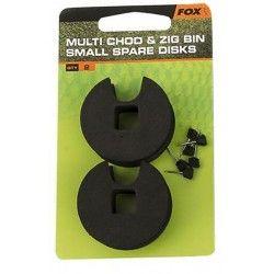 Małe dyski do pojemnika Fox Multi Chod & Zig Bin (2szt.)