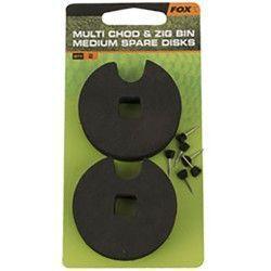 Średnie dyski do pojemnika Fox Multi Chod & Zig Bin (2szt.)