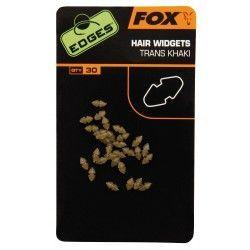 Gumki do mocowania włosa na haku Fox Edges Hair Widgets (30szt.)