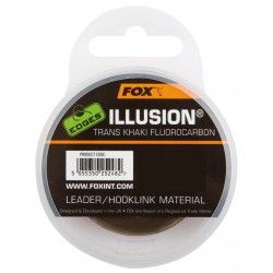 Żyłka Fox Edges Illusion Leader 0,50mm/50m fluorocarbonowa