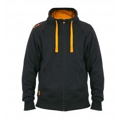 Bluza Black/Orange Lightweight Zipped Hoodie Rozm.S