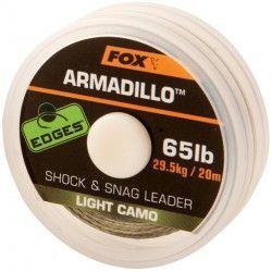 Plecionka przyponowa Fox Edges Armadillo 65lb/20m Light Camo