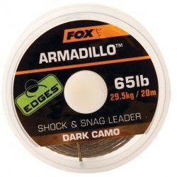 Plecionka przyponowa Fox Edges Armadillo 65lb/20m Dark Camo