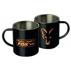 Kubek Fox Stainless Black XL 400 ml Mug FFF