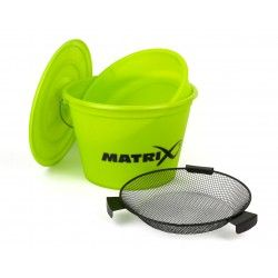 Wiadro Fox Matrix Lime Bucket Set